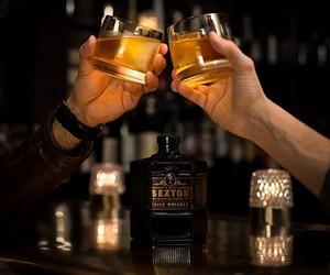 The Sexton Irish Whiskey is a perfect match
