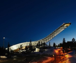 An Edgy Penthouse at The Top of a Ski Jump