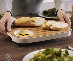 Slice & Serve | Reversible Bread and Cheese Board