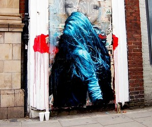 Streetart: New Murals by Snik in London and Escif
