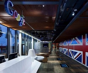 The cozy Google office in London