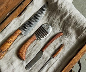 Handgemachte Messer von Chelsea Miller