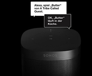 Alexa by Amazon is integrated in Songs One