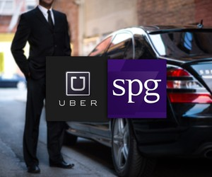 SPG Announces Global Partnership with Uber