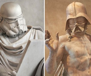 Star Wars Classic Greek Sculptures