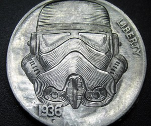 Modern Hobo Nickels by Shaun Hughes