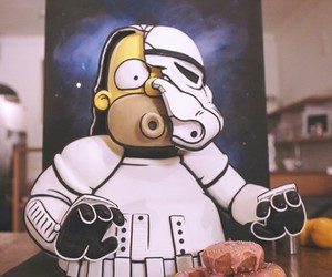 Homer Simpson as a Stormtrooper Cake