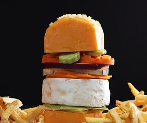 A cheeseburger who truly deserves his name