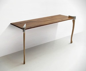 Woodsman Tables by Christopher Duffy