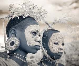 Terri Gold: Infrared Portraits of Tribal Cultures