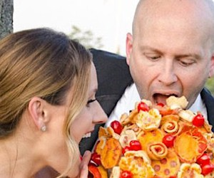 bridal bouquet - Pizza Flowers from Villa Italian