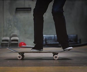Writer-turned-Skateboarder