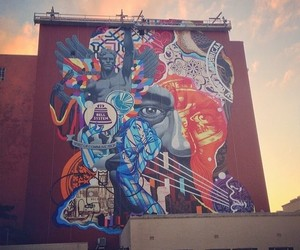 Streetart: New Mural by Tristan Eaton in Florida