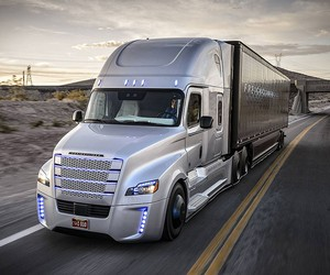 Freightliner Inspiration Self-Driving Truck
