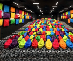 Colorful Beanbags