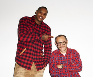 CARMELO ANTHONY'S SLAM DUNK BY TERRY RICHARDSON