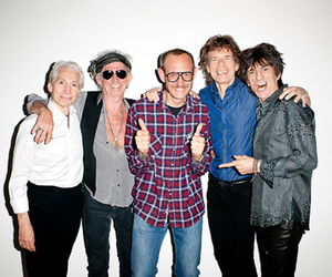 ROLLING STONES VISITING TERRY RICHARDSON