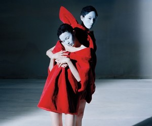 Fei Fei Sun & Xiao Wen by Tim Walker for Vogue
