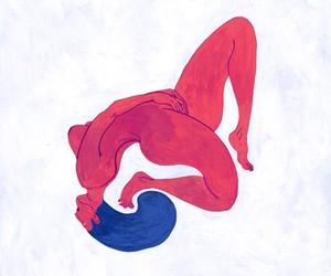 Sex in illustration by artist  Kim Roselier