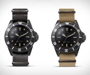 Vague Black Submariner Watch