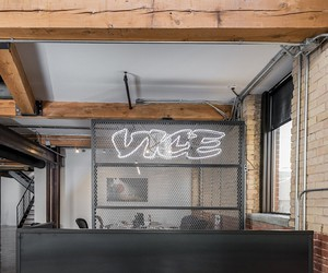 The new headquarter of Vice in Montreal