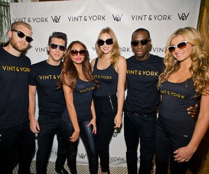 Vint and York at New York's Fashion Week