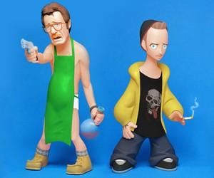 Breaking Bad Character Sculptures