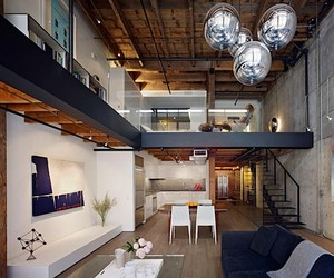 Warehouse in San Francisco rebuilt into Loft