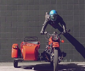 So you drive a motorcycle with a sidecar