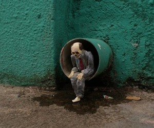 Isaac Cordal Sculptures 'Cement Eclipse'