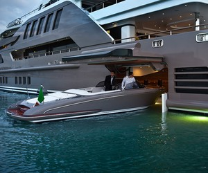 J'ade Superyacht With Floating Garage